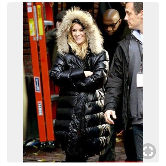 Jackets & Blazers - Moncler puffer jacket with fur hood